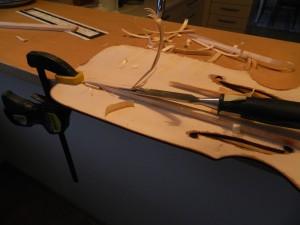 bild 13, bort med gamla basbjälken